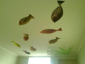 Рыбки на потолке