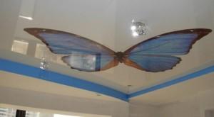 Изображение бабочки в квартире