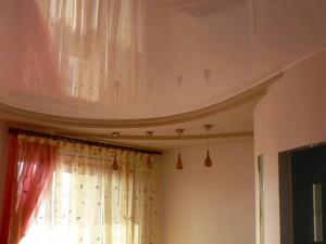 Гостиная - натяжные потолки